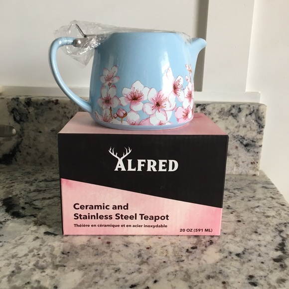 Alfred Ceramic and Stainless steel tea pot